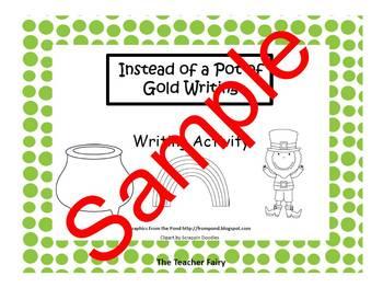 Pot of Gold Writing