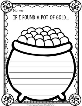 Pot of Gold Writing Paper