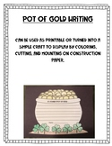 Pot of Gold Writing Prompt