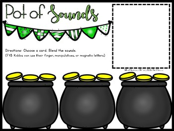 Pot of Sounds {Phoneme Segmentation}
