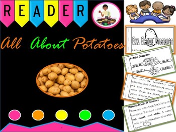 Potato: All About Potatoes Nonfiction Reader