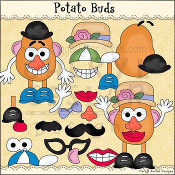 Potato Buds Clip Art personal & commercial use C Seslar
