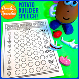 Potato Builder Speech: No Prep Articulation Sheets Toy Companion