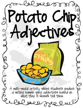 Descriptive/Sensory Words - Potato Chip Adjectives