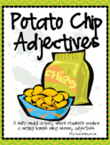 Activity: Potato Chip Adjectives (Using Sensory Words) - F