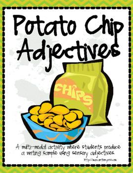 Potato Chip Adjectives - Full: Using Sensory Words