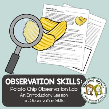 Scientific Method Potato Chip Observation Lab