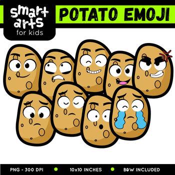 Potato Emoji Clip Art