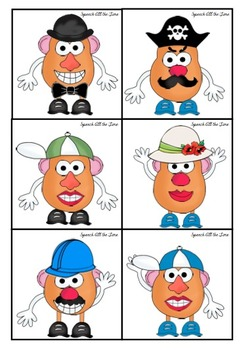 Potato Friends for Following Directions, Describing and Using Semantic Features