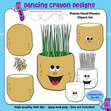 Potato Head Clip Art | Sequence of Seeds Growing