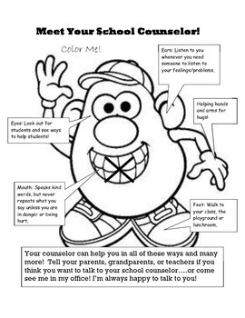 Potato Parts Lesson Plan