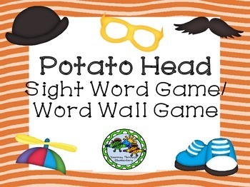 Potato Head Sight Word/ Word Wall Game