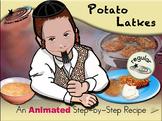 Potato Latkes - Animated Step-by-Step Recipe - Regular