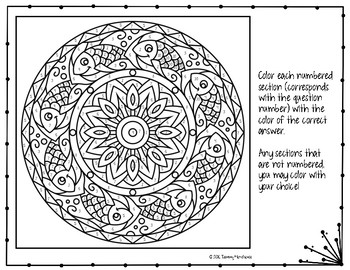 Potential Energy Coloring Page