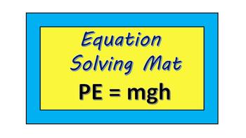 Potential Energy Formula