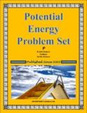 Potential Energy Problem Set