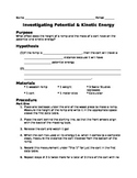 Potential Energy Investigation