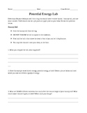 Potential Energy Lab