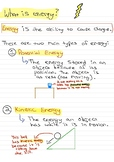 Potential Energy and Kinetic Energy Notes
