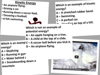 Potential and Kinetic Energy