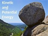 Potential & Kinetic Energy