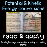 Potential & Kinetic Energy Conversions (NGSS MS-PS3-7)