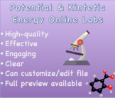 Potential & Kinetic Energy Notes & Virtual Labs