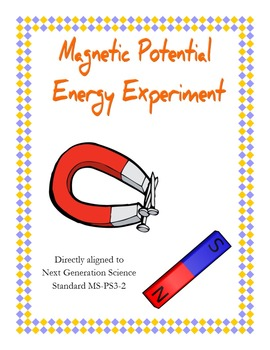 Potential Magnetic Energy Lab NGSS MS-PS3-2