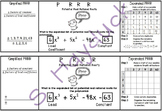 Potential Real Rational Roots Interactive Notebook Page (PRRR)