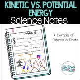 Potential Vs. Kinetic Energy - Science Notes