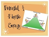 Potential and Kinetic Energy Science Powerpoint
