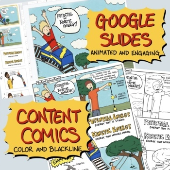 Potential and Kinetic Energy Comic