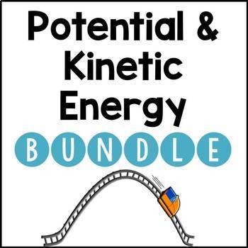 Potential and Kinetic Energy BUNDLE