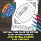 Potential and Kinetic Energy - Color By Number - Fun Worksheet