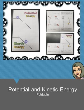 Potential and Kinetic Energy Foldable