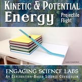 Kinetic and Potential Energy Lab | A Projectile Motion Experiment