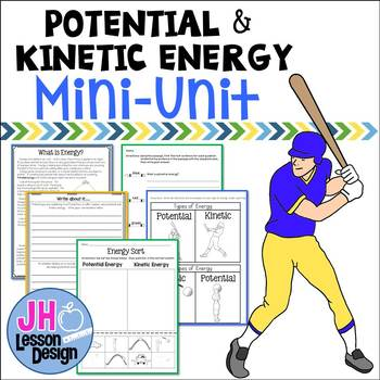 Potential And Kinetic Energy Foldable Teaching Resources Teachers