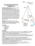 Potential and Kinetic Energy Pendulum Lab