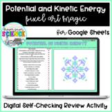 Potential and Kinetic Energy Pixel Art Magic   Snowflake