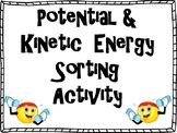 Potential and Kinetic Energy Sorting Activity