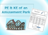 Potential and Kinetic Energy of an Amusement Park Project