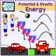 Potential and kinetic energy clipart {Science clip art}