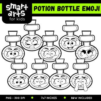 Potion Bottle Emoji Clip Art