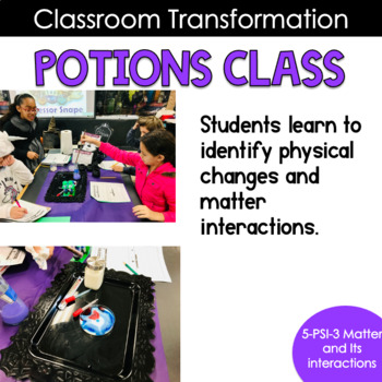 Potions Class with Professor Snape