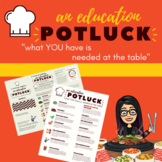 Potluck: A DIY Training FOR Teachers BY Teachers