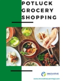 Potluck Grocery Shopping (worksheet and answer key)