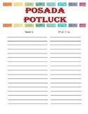 Potluck List