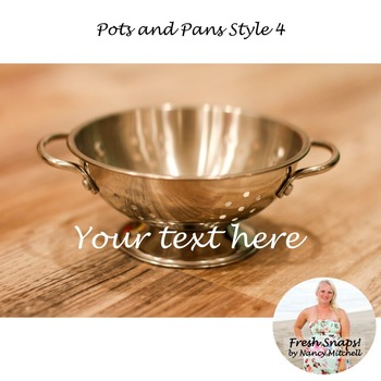 Pots and Pans Style 4