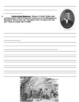 Pottawatomie Massacre Primary Source Handout