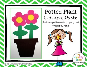 Potted Plant Cut and Paste